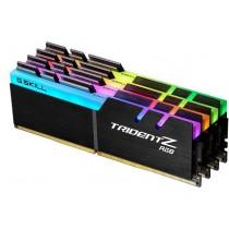 DDR4 64GB (4x16GB), DDR4 3200, CL16, DIMM 288-pin, G.Skill Trident Z RGB F4-3200C16Q-64GTZR, 36mj