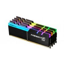 DDR4 64GB (4x16GB), DDR4 3600, CL18, DIMM 288-pin, G.Skill Trident Z RGB F4-3600C18Q-64GTZR, 36mj