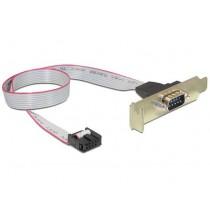 Serijski kabel bracket Low-profile (DB9 muški) (CC-DB9ML-01)