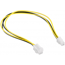 Adapter ATX 4-pin internal power supply extension cable, 0.3m (CC-PSU-7)