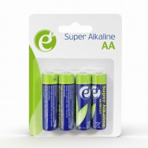 Baterije Energenie Alkaline LR6 AA 4-pack, (EG-BA-AA4-01)