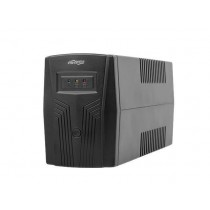 UPS Gembird 650VA, Energenie, Basic, 650, 390W, Line Interactive, 2x Schuko, crna, 24mj, (EG-UPS-B650)