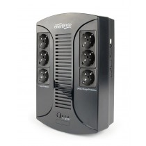 UPS Gembird 650VA, Energenie, Floor, 650VA, 390W, Line Interactive, crna, 24mj, (EG-UPS-DT650U-01)