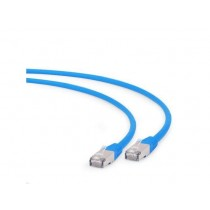 Patch kabel S/FTP 1m, Cat 6A, LSZH, Gembird PP6A-LSZHCU-B-1M, plava