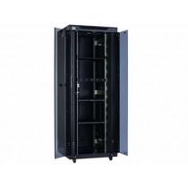 """Ormar HCS C11-04280, crna, 42U, (w)800mm, (d)1000mm, 19"""", Samostojeći, 12mj"""