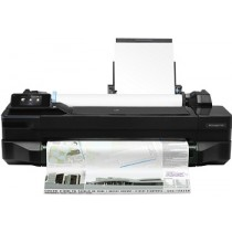 HP DesignJet T120 610mm ePrinter, CQ891B, crna, USB, LAN, WL, 12mj
