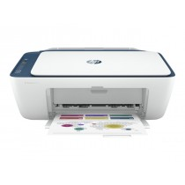 HP Deskjet 2721 All-in-One, print, scan, copy, tintni, color, A4, WL, 2-bojni, crna, 12mj, (7FR54B)