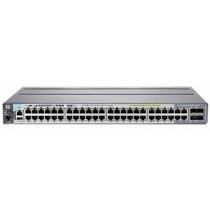 Switch HP Aruba 2920-48G-POE+ 740W, J9836A, Gigabit, 48x, PoE out, rack, managed, 44x GbE, 48x PoE GbE, 4x SFP, 4x SFP 10G, tamno siva