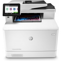 HP Color LaserJet Pro MFP M479fnw, print, scan, copy, fax, ADF-D, laser, color, A4, USB, LAN, WL, 4-bojni, bijela, 12mj, (W1A78A)