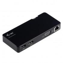 USB TRAVEL DOCKING STATION USB 3.0 VGA/HDMI, LAN (U3TRAVELDOCK)
