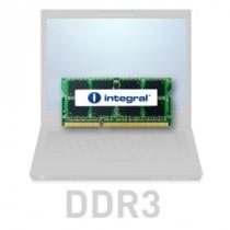 DDR3 4GB (1x4GB), DDR3 1066, CL7, SO-DIMM 204-pin, Integral IN3V4GNYBGX, 24mj