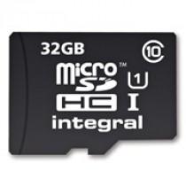 SD HC 32GB Integral micro SDHC CL10 + Adapter (INMSDH32G10-40U1)