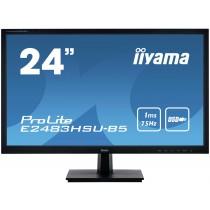 """Monitor iiyama 24"""", E2483HSU-B5, 1920x1080, Zvučnici, crna, 24mj"""