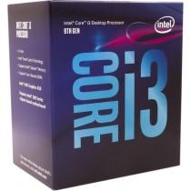 CPU Intel Core i3 8100 (3.6GHz do 3.6GHz, 6MB, C/T: 4/4, LGA 1151v2, cooler, 65W, UHD Graphic 630), 36mj