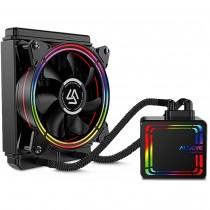 CPU cooler InterTech ALSEYE HALO H120, Water, 1x fan 120mm, 24mj, (88885488)