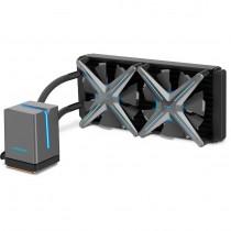 CPU cooler InterTech ALSEYE X240, Water, 2x fan 120mm, 24mj, (88885494)