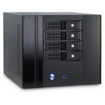 "Kućište Intertech SC-4004, crna, 4x 3.5"" HS, mini ITX, 12mj (88887186)"