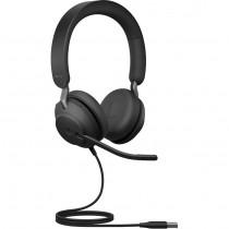 Slušalice Jabra Evolve2 40 MS Stereo Headset, USB, microphone, crna, 12mj, (24089-999-999)