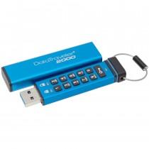 USB Memory 32GB plava, Kingston DataTraveler DT2000, DT2000/32GB, USB stick, USB3.0, 36mj