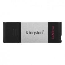 USB Memory 128GB crna, Kingston DataTraveler, DT80/128GB, USB stick, USB3.2 Gen 1, 36mj