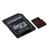 SD HC 32GB Kingston micro SDHC UHS-I U3 (r/w: 90/45 MB/s) + Adapter (SDCA3/32GB)