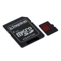 SD HC 32GB Kingston micro SDHC UHS-I U3 (r/w: 90/45 MB/s) + Adapter (SDCA3/32GB)