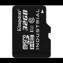 SDHC 32GB Industrial Temperature, Kingston, SDCIT/32GB, microSDHC, adapter, 90/45, 36mj