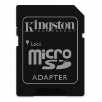 SDHC 32GB Canvas Select, Kingston, SDCS/32GB, microSDHC, adapter, UHS-I, 36mj