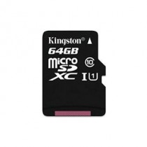 SDXC 64GB Canvas Select, Kingston, SDCS/64GBSP, microSDXC, UHS-I, 36mj