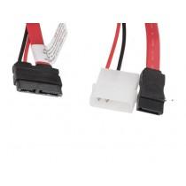 Kabel za SATA micro SATA <--> SATA + Molex (CA-SAHD-10CU-0035-R)