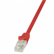 Patch kabel UTP 1.5m, Cat6, AWG24, Logilink CP2044U, crvena