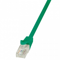 Patch kabel UTP 1.5m, Cat6, AWG24, Logilink CP2045U, zelena