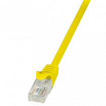 Patch kabel UTP 1.5m, Cat6, AWG24, Logilink CP2047U, žuta