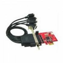 Kontroler IO 4x serial (RS232) PCIe x1 (IO-107)