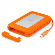 "HDD ext LaCie 1TB narančasta, Mobile Drive Rugged, STEV1000400, 2.5"", USB3.0 i Thunderbolt, 5400RPM, 24mj"