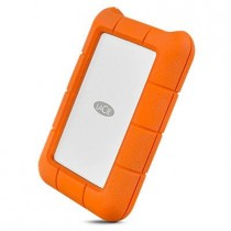"HDD ext LaCie 2TB narančasta, Mobile Drive Rugged, STFR2000800, 2.5"", USB-C, 5400RPM, 24mj"