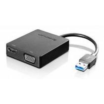 USB kabel na HDMI/VGA, USB3.0 - HDMI/VGA, USB 3.0 to VGA/HDMI Adapter (4X90H20061)