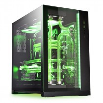 Kućište Lian Li PC-O11 Dynamic Razer Edition, crna, ATX, 24mj (PC-O11DRE)