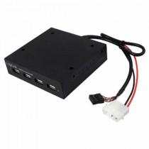 "USB HUB 4-port, USB2.0, 3.5"" Logilink crna, (UA0074)"