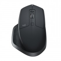 Miš Logitech MX Master 2S, Optički, USB wireless, tamno siva, 24mj, (910-005139)