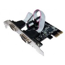 Kontroler IO PCIe to 2x Serial (RS232C) retail (LCS-6321O)