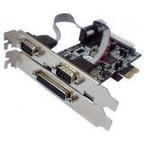Kontroler IO PCIe to 2x Serial 1x Parallel (RS232C) retail (LCS-6322M)