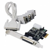 Kontroler IO PCIe to 4x Serial powered (RS232C) retail (LCS-6324P)