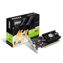 VGA MSI GT 1030 2G LP OC, nVidia GeForce GT 1030, 2GB, do 1518MHz, Low-profile, 36mj