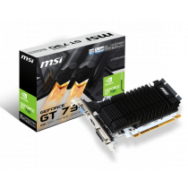VGA MSI N730K-2GD3H/LP, nVidia GeForce GT 730 D3/64, 2GB, do 902MHz, Pasivno hlađenje, 36mj