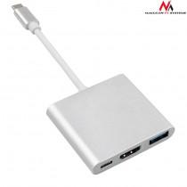 USB kabel na HDMI, USB-C 3.0 -> HDMI Adapter (MCTV-840)