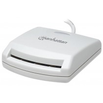 Čitač Smart kartica Manhattan Smart Card Reader USB, bijela, 172844, 24mj