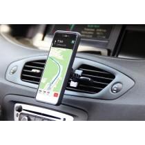 Nosač za Smartphone, Ventilacijska rešetka, Media-Tech Magnet Car Holder V2.0 Universal, crna, 24mj, (MT5523)