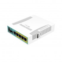 Router Mikrotik hEX PoE, RB960PGS, PoE in/OUT