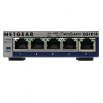 Switch Netgear 5 Port Gigabit Ethernet Smart Managed Plus Switch, GS105E-200PES, 5x GbE, 24mj
